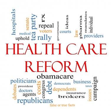 Health Care Reform Word Cloud Concept