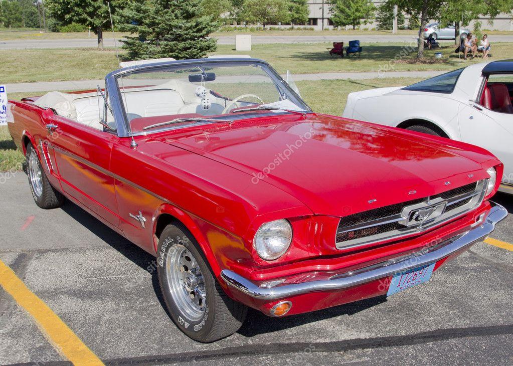 La Mustang Rossa Idee Immagine Auto