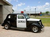 Fotografie alte Polizei-Auto