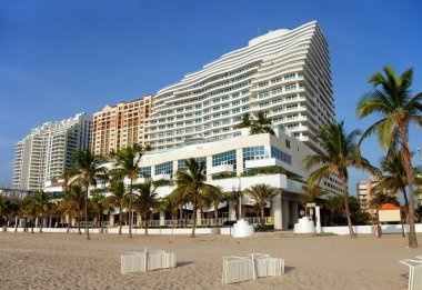 Beach front timeshare residences