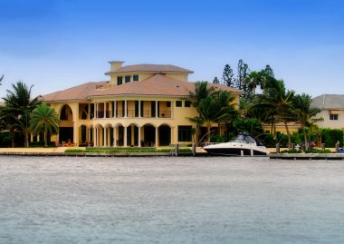 Luxury Waterfront Property And Yacht
