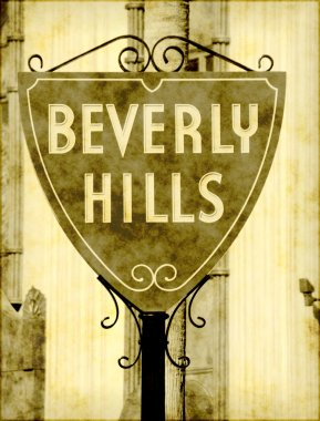 Old Beverly Hills sign