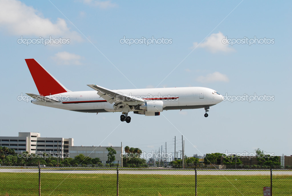 Modern cargo jet