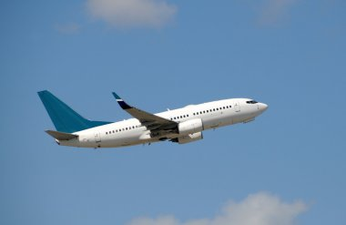 Modern jet airplane