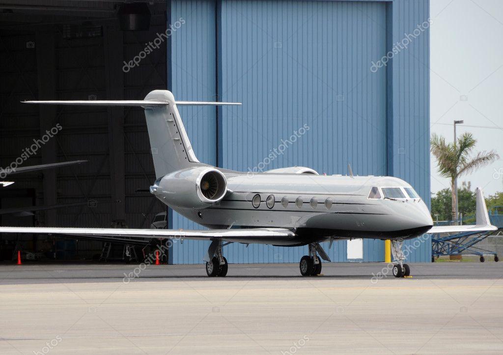 Private jet airplane