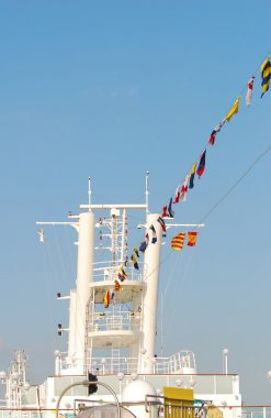 Industrial ship deck