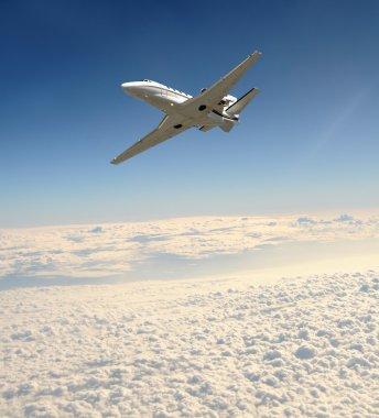 Ligfht private jet