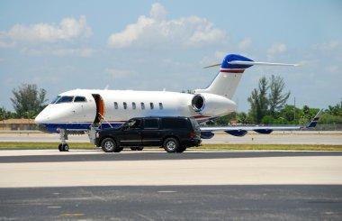 Luxury corporate jet