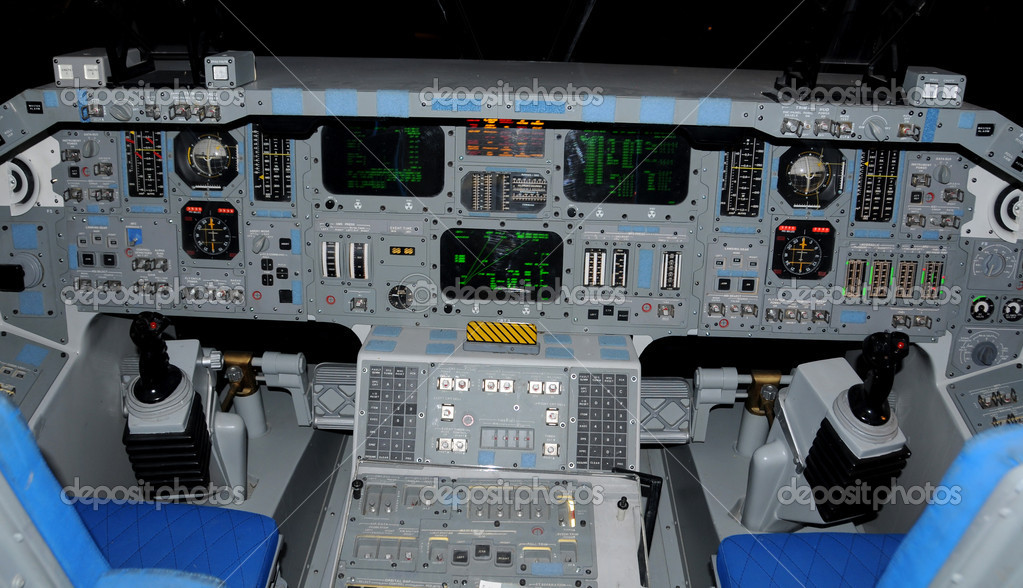 space shuttle reentry cockpit view - photo #40