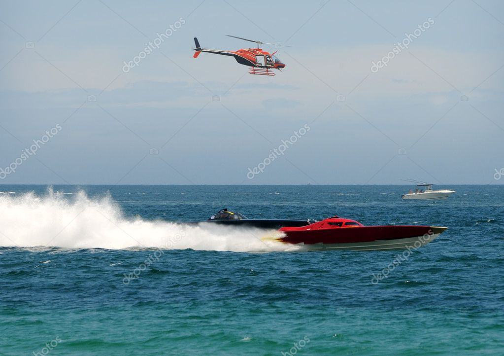 Offshore boat race
