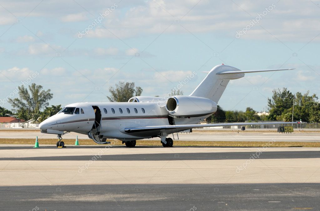 Luxury jet