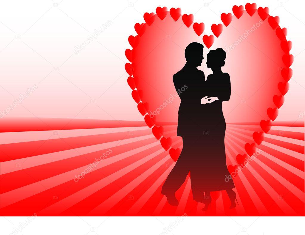 Dating en lila hjärta