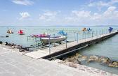 jezero balaton v Maďarsku