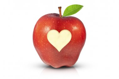 Red apple for health