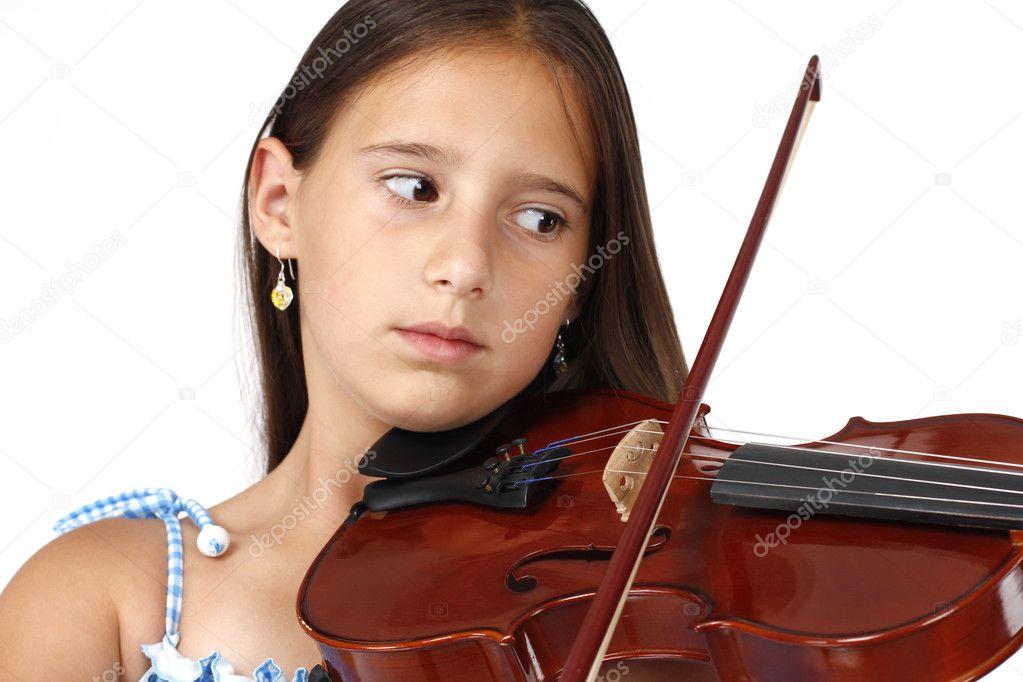Фото скрипки с ребенком