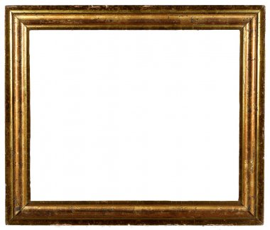 Vintage antique shabby gold picture frame