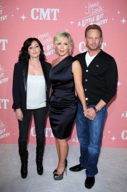 Shannen Doherty, Jennie Garth, Ian Ziering