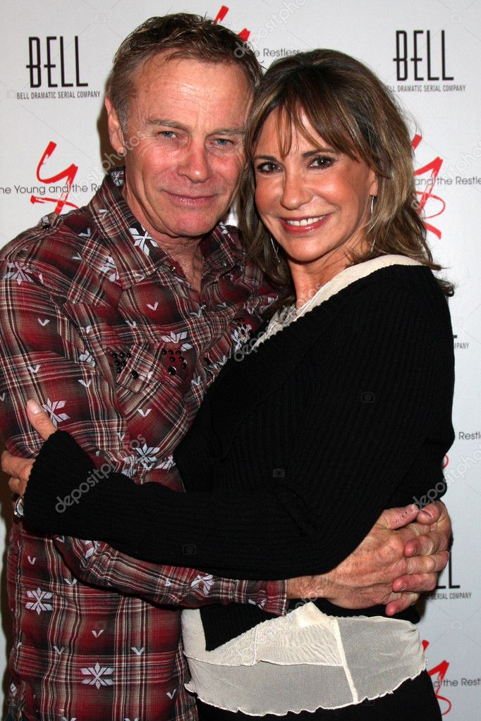 Tristan Rogers Jess Walton Stock Editorial Photo C Jean Nelson 11737399