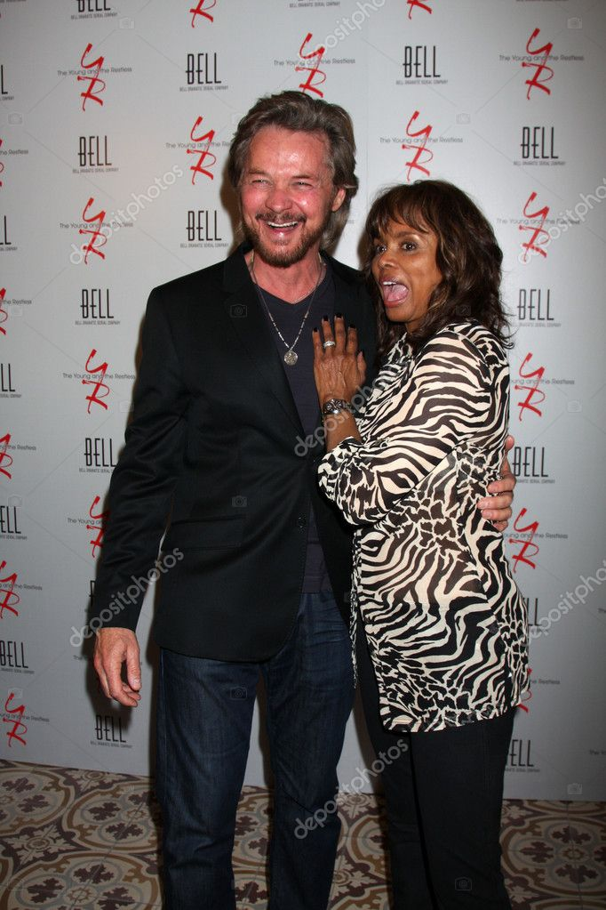 Stephen Nichols Debbi Morgan Stock Editorial Photo C Jean Nelson 11737439