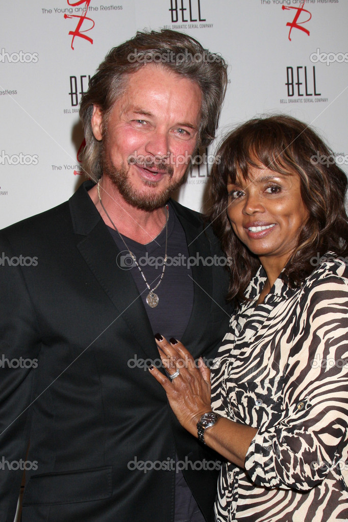 Stephen Nichols Debbi Morgan Stock Editorial Photo C Jean Nelson 11737440