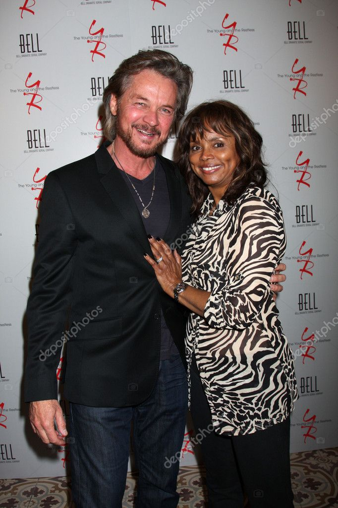 Stephen Nichols Debbi Morgan Stock Editorial Photo C Jean Nelson 11737441