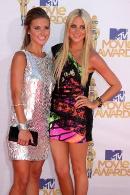 Audrina Patridge and Stephanie Pratt