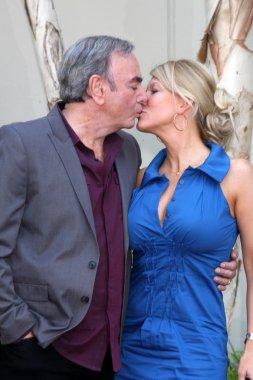 Neil Diamond with wife Katie McNeil