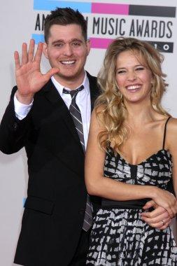 Michael Buble and his bride Luisana Lopilato