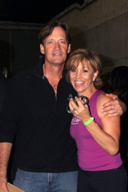 Kevin Sorbo and Forbes Riley