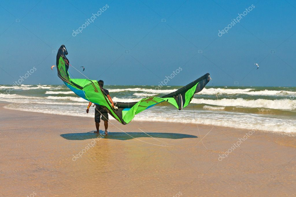 Kite surf or Kite board, Water sports