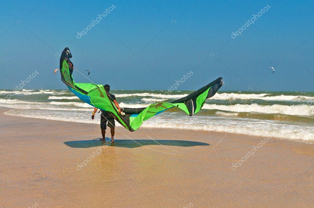 Kite surf or Kite board, Water sports