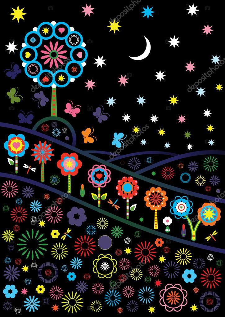 Nightly glade