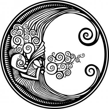 Decorative Moon