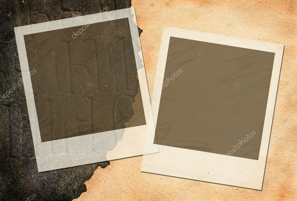 old letter with frames stock photo 11952889