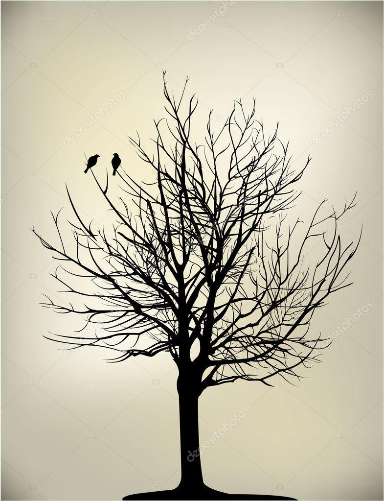 2 birds on tree