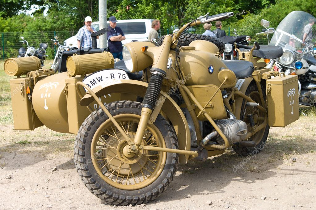 Мотоциклы БМВ военных лет