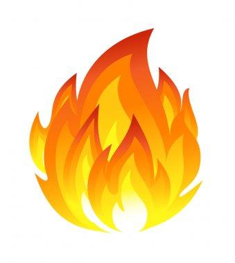 """Картина, постер, плакат, фотообои """"символ огня """", артикул 11921623"""