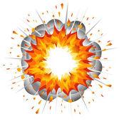 Fotografie výbuch