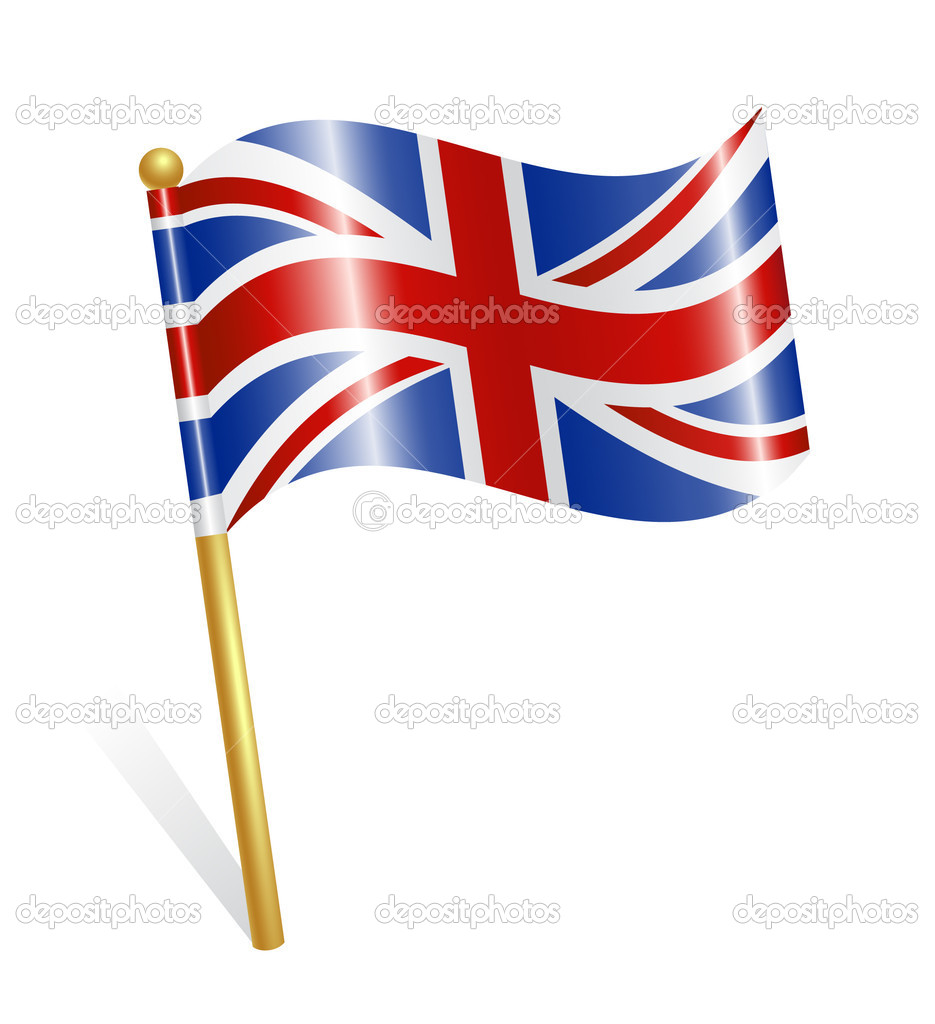 Country UK flag — Stock Vector #11943948