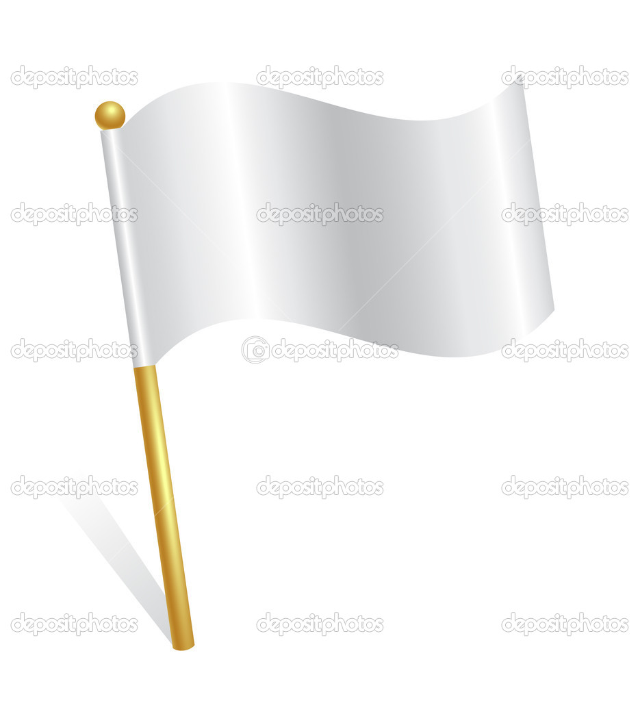 White flag icon
