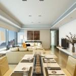 넓은 집에서 현대 부엌 인테리어 — 스톡 사진 © iriana88w #52679319