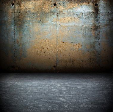 Dark Grunge Room.