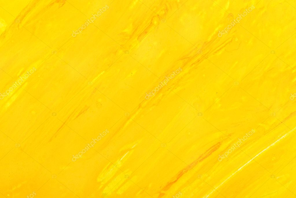 Abstract yellow background. watercolor
