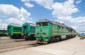 Fotografie Lokomotiven im Depot
