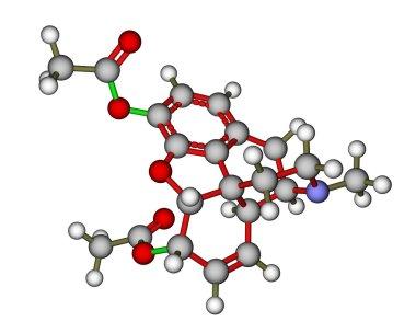Heroin molecule