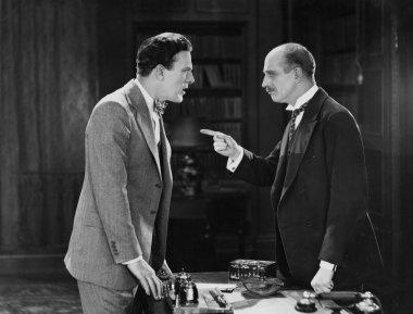 Businessmen having argument