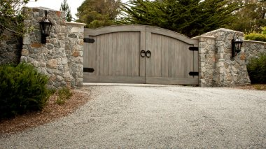 Residential Driveway Gate