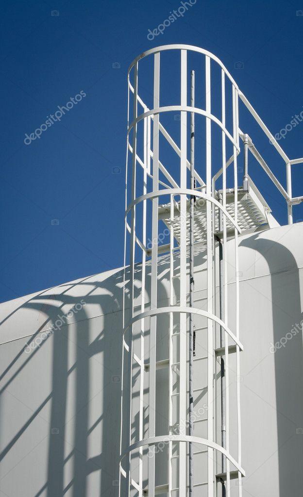 Pictures: water storage tank   Water Storage Tank Ladder