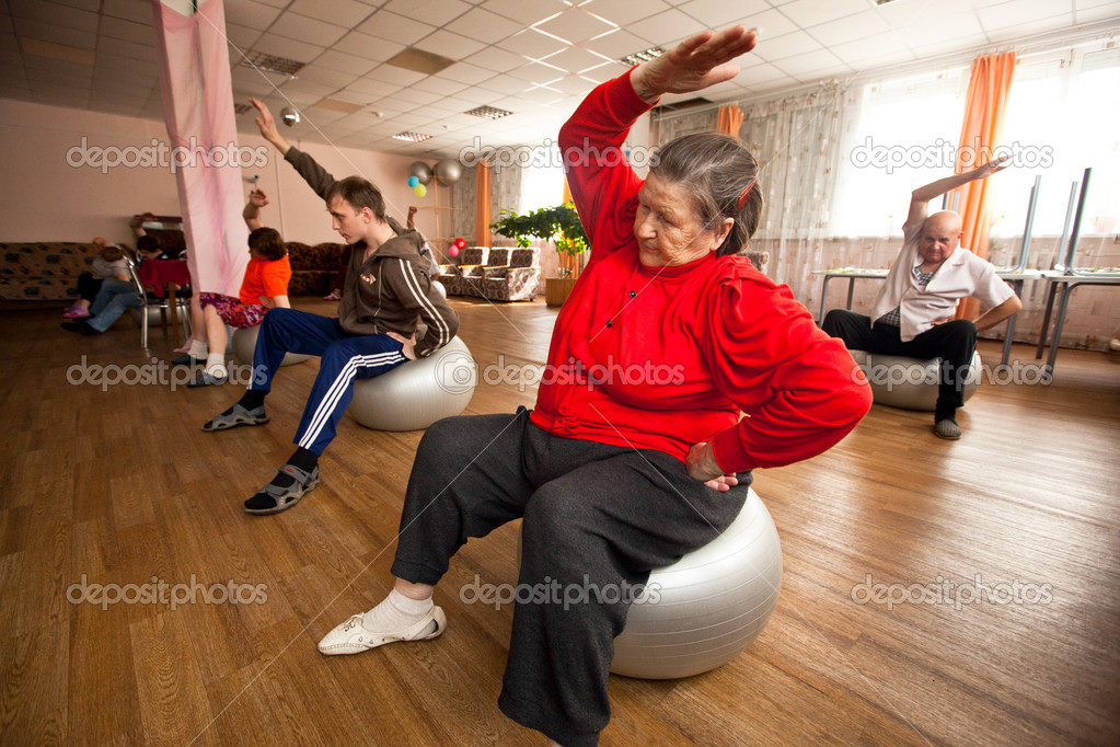 Day of Health in Center of social services for pensioners and disabled Otrada