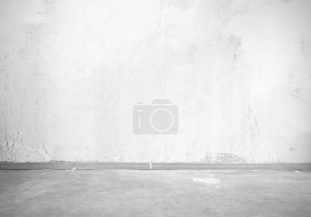 Photo for Vintage interior of stone wall and gray floor - Royalty Free Image